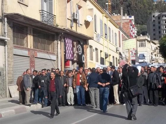 Béjaïa : Sit-in des corps communs  et des ouvriers professionnels