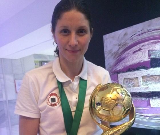 Lamia Izem capitaine du GSP : «On la voulait et on l'a eue, cette Coupe arabe»