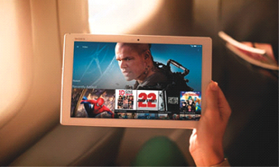 Sony Xperia Z4 Tablet : la rencontre entre puissance et légèreté