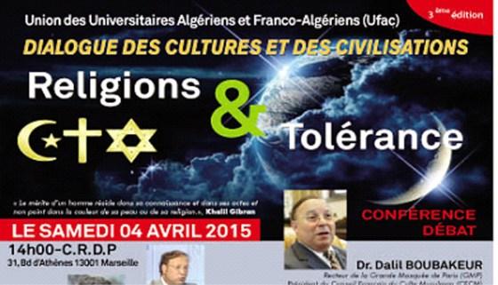 Universitaires algériens et français pour un débat contre la haine