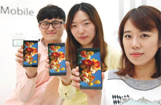 LG dévoile un écran 5.5 pouces QHD, peut-être pour le LG G4