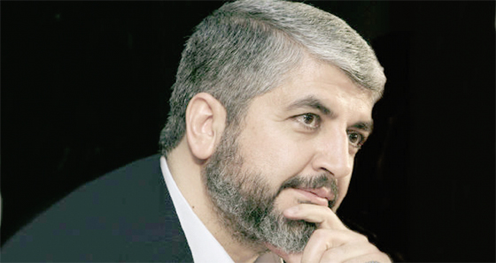Mechaal demande au FPLP-Syrie de soutenir un groupe pro Hamas