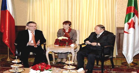 Dix projets en cours de négociation entre l'Algérie et la Tchéquie