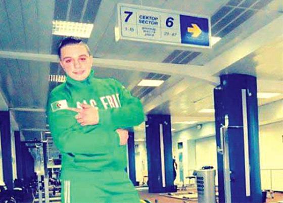 Trois médailles d'or  pour l'Algérien Aymen Touairi