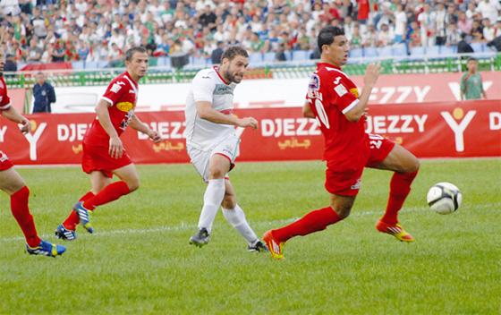 MC Alger  –  CR Belouizdad : derby de tous les enjeux