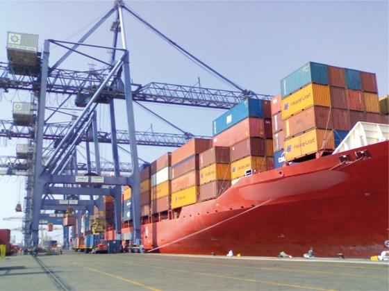 Un million de tonnes de marchandises débarquées