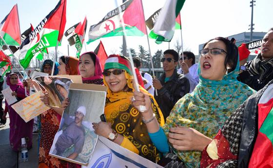Des ONG françaises marchent à Paris contre l'occupant marocain
