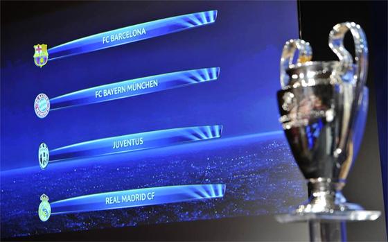 Barça-Bayern et Juve-Real en  demi-finale de la Ligue des champions