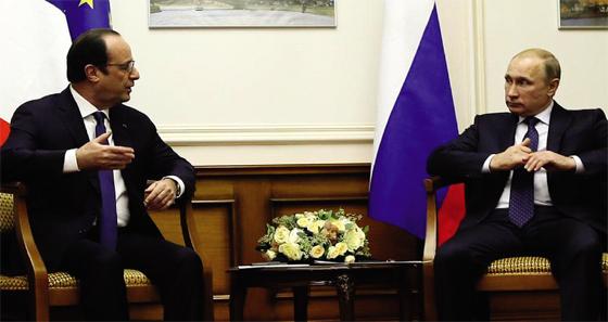 Moscou fustige l'initiative d'Hollande