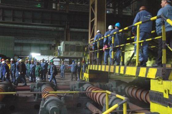 Arcellor Mittal : Des travailleurs de la tuberie exigent la nationalisation de la filiale