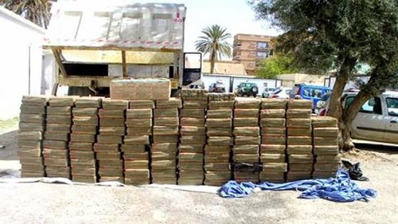 Une tonne de kif traité, 44 mines artisanales et 15 détecteurs de métaux saisis