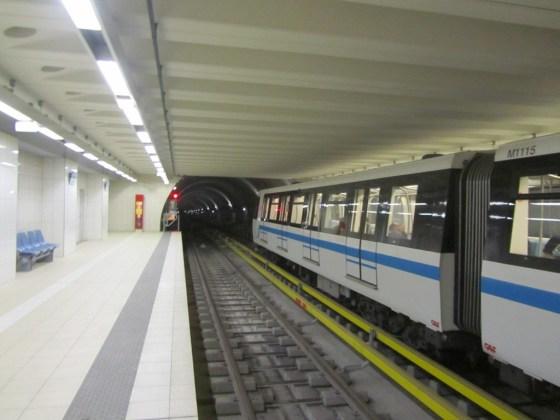 Le métro d'Alger à l'arrêt ce samedi