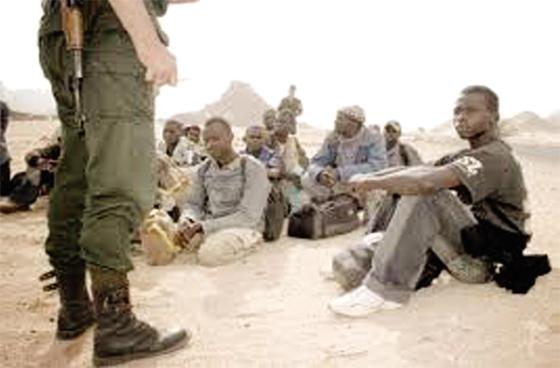 Arrestation de 24 immigrants clandestins et cinq contrebandiers au Sud du pays
