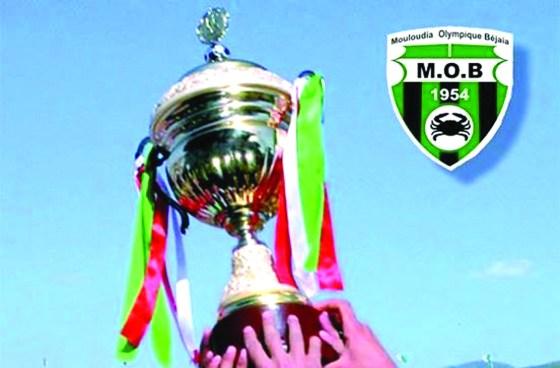 Le MO Béjaïa remporte sa première coupe d'Algérie