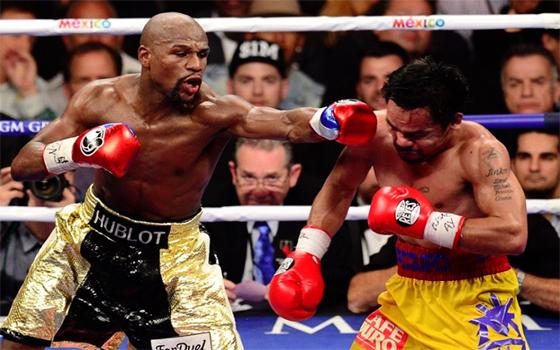 Boxe : Floyd Mayweather remporte «le combat du siècle»