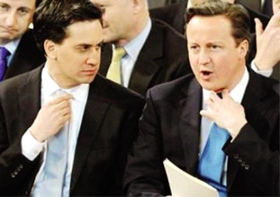 Ultimes plaidoiries de Cameron et Miliband