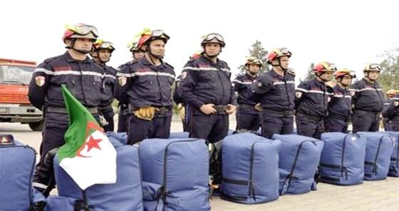Nos pompiers conquièrent Mélanchi