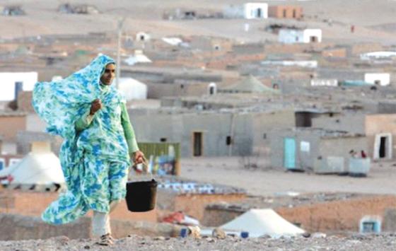 Les réfugiés sahraouis  menacés de famine