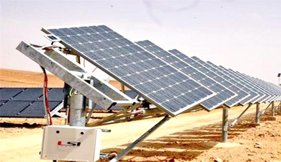 La centrale solaire de Saïda opérationnelle en septembre