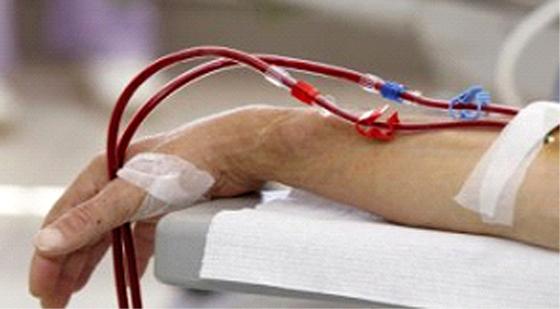 L'insuffisance rénale due dans 60% des  cas au diabète ou l'hypertension artérielle