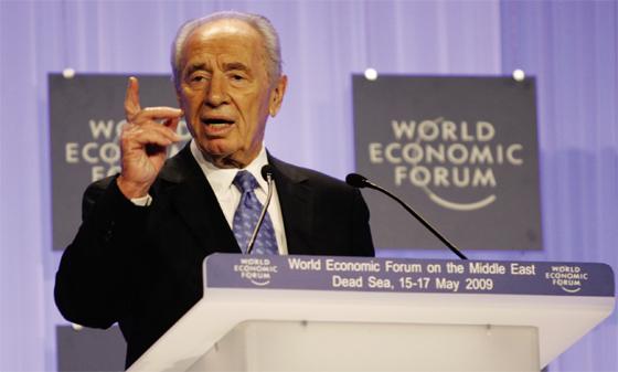 Le boucher Shimon Peres aux premiers rangs