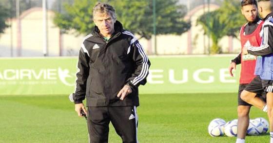 Christian Gourcuff entame son chantier   avec  17 joueurs à Sidi Moussa