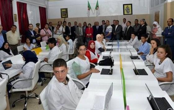 Inauguration de la plus grande clase numérique en Afrique à Constantine