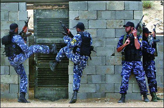 Un chef djihadiste abattu  par la police palestinienne