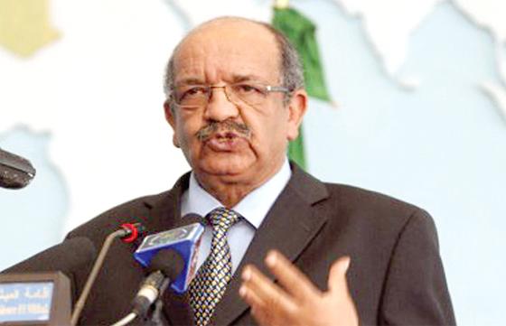 M. Messahel : un gouvernement d'union nationale exige des concessions