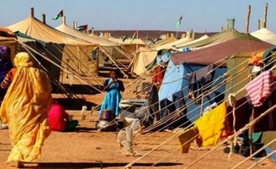 Des parlementaires remettent un don alimentaire aux réfugiés sahraouis