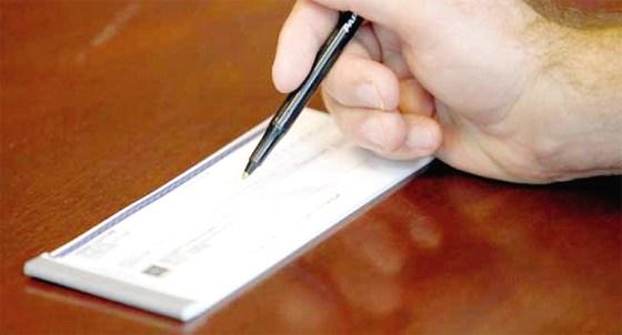 Le chèque obligatoire à partir du 1er juillet