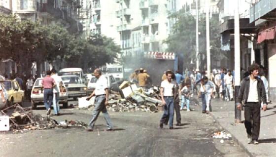 L'Algérie risque-t-elle des troubles comme ceux de 1988?