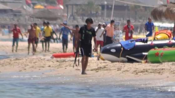Le terroriste de Sousse fuyant après le massacre