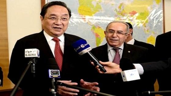 Un plan de coopération entre l'Algérie et la Chine