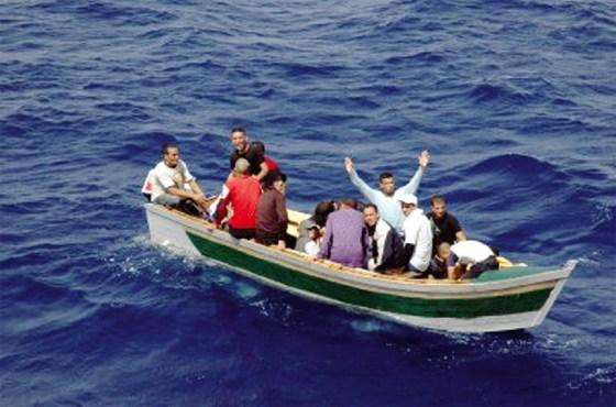Vingt-deux harraga arrêtés au large d'Annaba