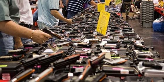 Voilà les armes utilisées dans la tuerie