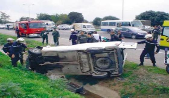 198 accidents de la route durant le ramadhan à Tizi-Ouzou