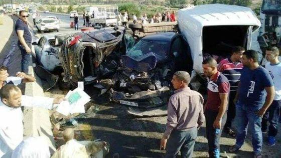 Un mort et 19 blessés dans un carambolage à Djebahia