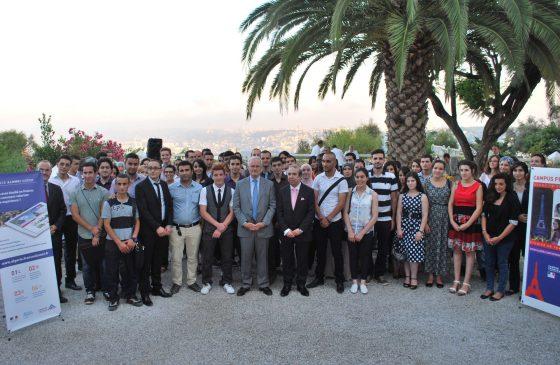 Bernard Emié reçoit les étudiants de Campus France
