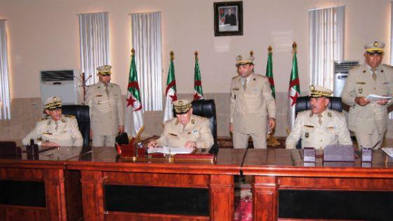 Le général-major Souab Meftah installé en tant que nouveau Commandant