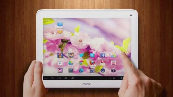 Condor lance sa nouvelle tablette 901G