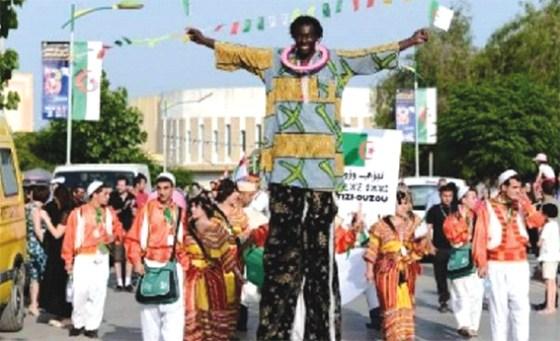 Coup d'envoi du Festival arabo-africain de danse folklorique