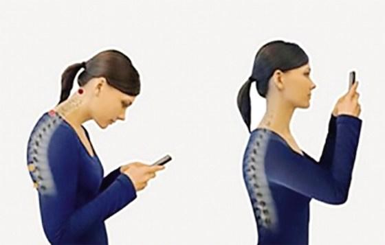Smartphones : «Letext-neck» la nouvelle maladie tendance du moment