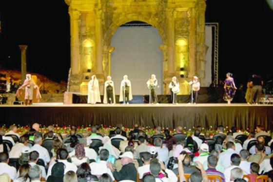 La jeunesse algérienne et arabe sur scène