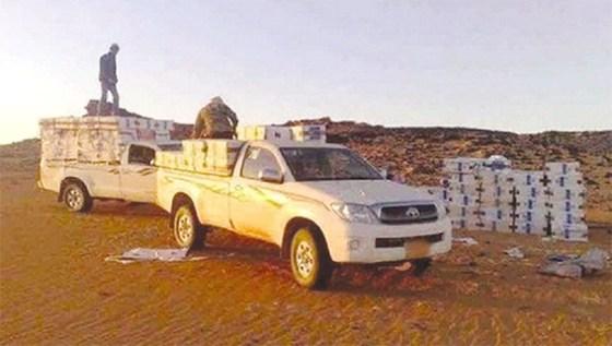 Contrebande : Saisie de 9 tonnes de denrées alimentaires et de 9 600 litres de carburant