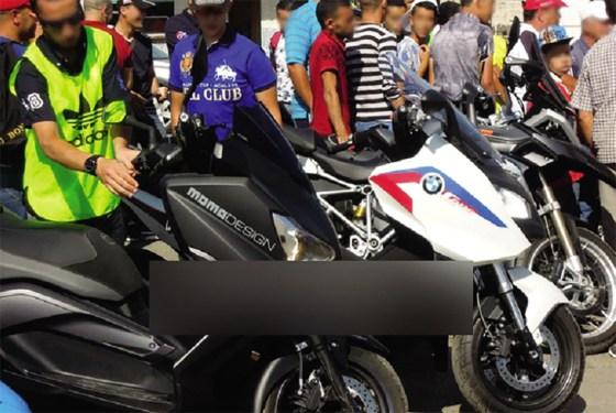 Des milliers de  motos «non conformes» au code de la route