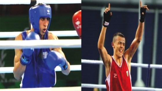 Flissi et Benbaaziz en demi-finale