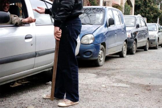 Chasse aux parkingueurs et pose de sabots
