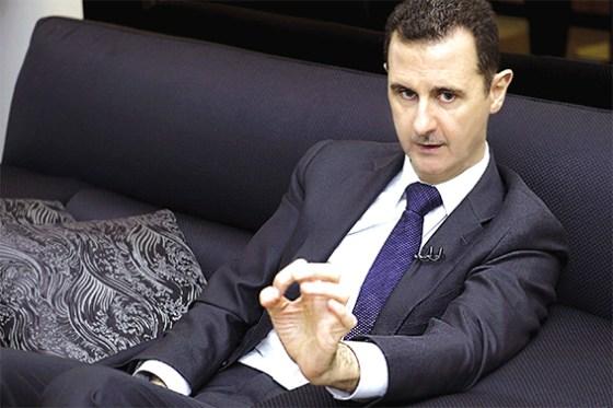 Bachar al-Assad : « Pas de règlement dans un avenir proche. Les USA veulent le chaos »