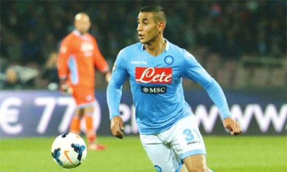 Naples rejette une seconde offre de l'Inter Milan pour Ghoulam
